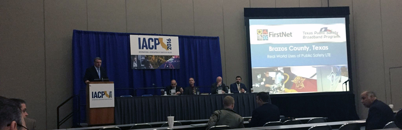 FirstNetME attends IACP 2016